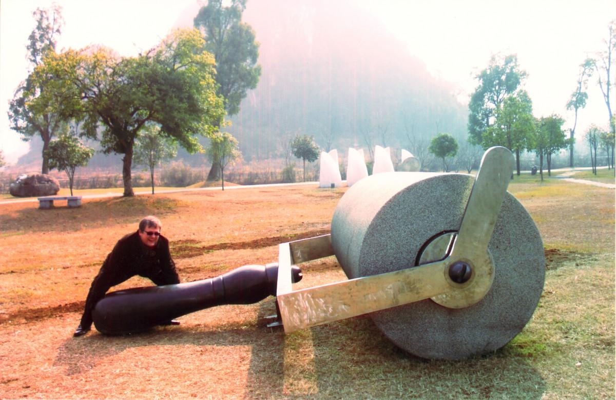 """Guntis Belēvičs, """"Hotel of Modern Art"""" (HOMA), Guilin pilsēta, Ķīna, 2007.g. februāris"""