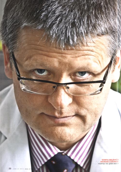 """Guntis Belēvičs, 2011.gada maijs, """"Saules aptieka"""""""