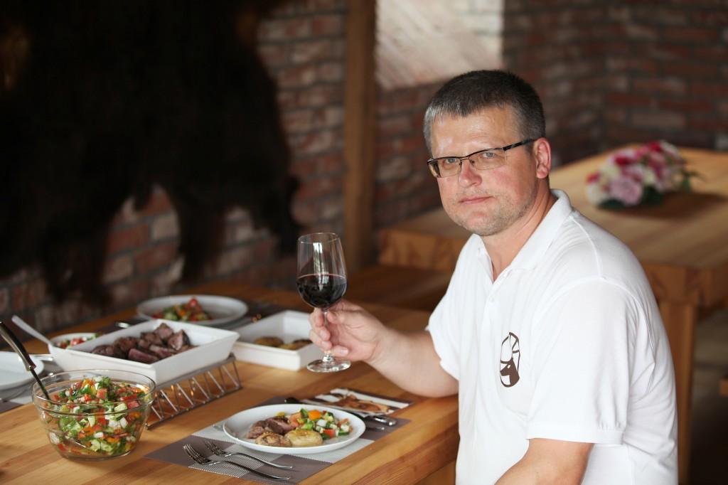 Guntis Belēvičs, 2012. gada jūlijs. Foto: Ilze Pētersone