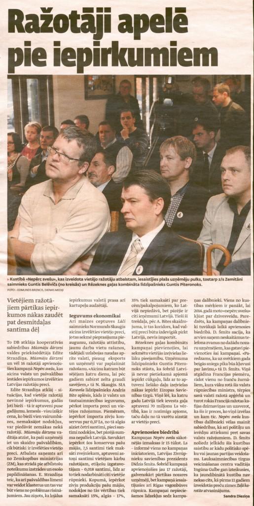 """""""Dienas bizness"""", 08.11.2012"""