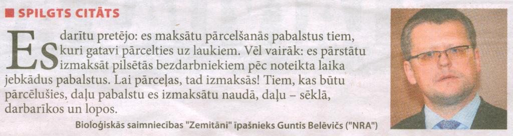 Latvijas Avīze, 26.10.2012.
