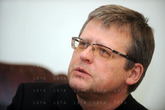 Uzņēmējs, Latvijas zaļās partijas Rīgas mēra amata kandidāts. (C) Leta, 2013