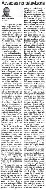 Neatkarīgā Rīta Avīze, 7.05.2013