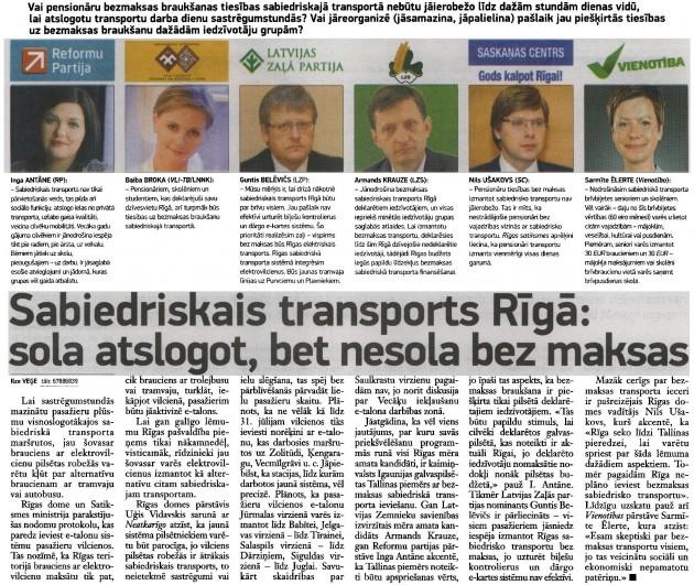 Neatkarīgā Rīta Avīze, 8.05.2013