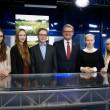 Karjeras izglītības pāsākuma ietvaros Ēnu dienā veselības ministra Dr. Gunta Belēviča darba ikdienā ielūkojās pieci jaunieši